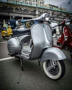Beautiful Vespa GS. Brighton weekender 2016