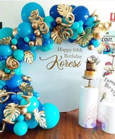 40th Birthday Parties, Birthday Balloons, Birthday Party Decorations, Ballon Decorations, Sweet 16 Decorations, Balloon Backdrop, Balloon Garland, Deco Ballon, 21st Bday Ideas