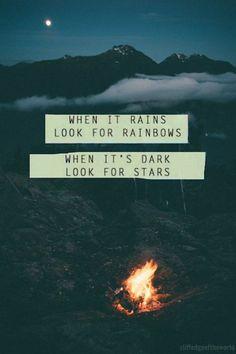 Cuando llueva busca el arco iris, cuando sea de noche busca las estrellas.....   LOS 40 SON NUESTROS   Scoop.it