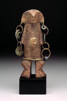 Zaire, Zande Yanda Figure (Nazeze Type ?) 19th-20th century Dallas Museum of Art