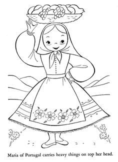Inside Out Coloring Pages, Easy Coloring Pages, Coloring Books, Sue Sunbonnet, Shopkins Colouring Pages, Graphic Design Portfolio Examples, Disney Princess Coloring Pages, Flashcards For Kids, World Thinking Day
