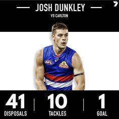Career game for Josh Dunkley 💪