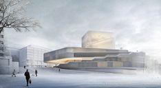 Arch Model, Cultural Center, Facade, Museum, Urban, Culture, Building, Artwork, Thesis