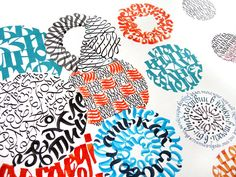 Some works for festival of calligraphy & typography Rutenia 2010   by Marina Marjina