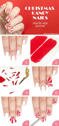 Christmas is around the corner, so it's time for some festive nail art! And I have a tutorial for you too. It will be perfect for those w...