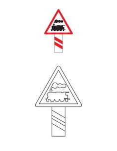 Unguarded railway crossing traffic sign coloring page Colouring Pages, Coloring Sheets, Image Search, Crafts For Kids, Signs, Traffic Sign, Classroom, Google Search, Vehicles