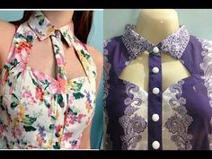 Neck Designs For Suits, Neckline Designs, Sleeves Designs For Dresses, Fancy Blouse Designs, Stylish Dress Designs, Blouse Neck Designs, Collar Designs, Collar Kurti Design, Kurta Neck Design