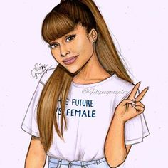 Not my best but... Is a cute one @arianagrande i love you