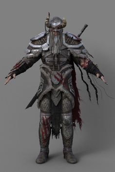 I finished modeling (more or less) the elderscrolls online nord armor today, so I figured I'd start a topic about it to dump some updates and pictures as thi...