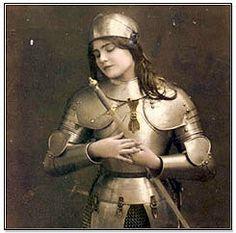Jeanne d'Arc - Joan of Arc (1412-1431)