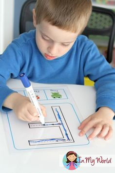Back to School Preschool Centers - FREE Upper and Lower Case Letters with correct formation