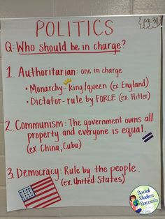 Anchor Charts in Secondary Social Studies - Social Studies Success Blog