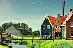 Volendam, NL by Anton Bielousov, via 500px