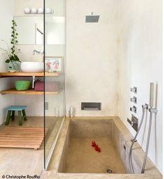 cool la douche-baignoire !