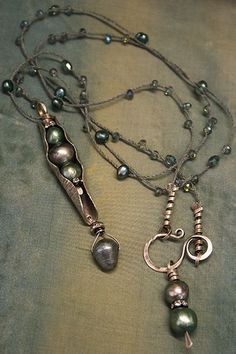 Deryn Mentock necklace. Jewelry that inspires. For more follow www.pinterest.com/ninayay and stay positively #inspired