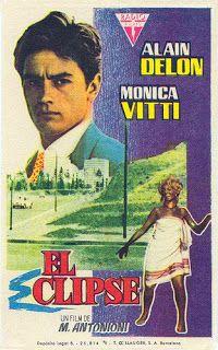 Carteles del cinema: 1962 - EL ECLIPSE - L'eclisse - Michelangelo Antonioni