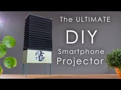 How to build the ultimate DIY smartphone projector - DIY Photography #SmartphoneProjector