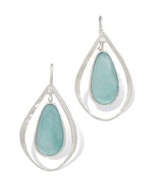 Ancient Roman Glass Earrings on Emma Stine Limited
