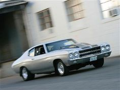 1970 Chevy Chevelle with a twin-turbo 540 making 1,100 horsepower to the wheels