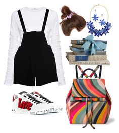 """School"" by pitaa29 on Polyvore featuring TIBI, American Apparel, Kate Spade, Paul Smith and Dolce&Gabbana"