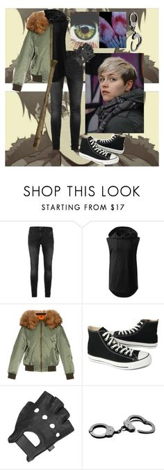 """I Know I'm I Wolf (Inspired by Sangwoo from Killing Stalking)"" by demonsedge16 ❤ liked on Polyvore featuring Topman, Mr & Mrs Italy, Converse and Wilsons Leather"