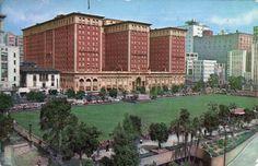 The Biltmore Hotel.  https://web.archive.org/web/20051103203005/http://www.yesterdayla.com/Graphics/biltmore1.jpg