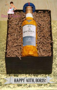 Www Mycitycake Com The Macallan 25 Yr Old Scotch Whisky