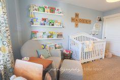 Nursery Feature   Literary Chic » Tesar Photography   Boise Idaho Wedding Photographer
