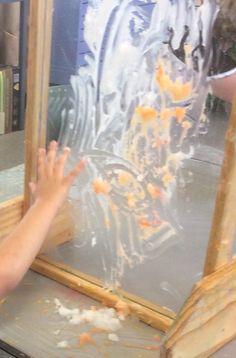 Upright easels broaden hand-eye connections, and encourages shoulder movement and arm lifting. This fingerpaint has dried out rather, but being sprayed lightly with dye requires consistent effort to mix effectively. Acrylic paint is a much brighter alternative.
