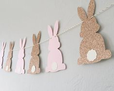 Bunny Banner Some Bunny is One Banner Easter Banner Easter Garland, Easter Banner, Easter Bunny Decorations, First Birthday Themes, First Birthdays, Decoracion Baby Shower Niña, Easter Crafts For Adults, Bunny Templates, Bunny Party