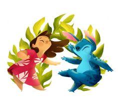 Estas son las mejores ilustraciones de los personajes de Disney que he visto