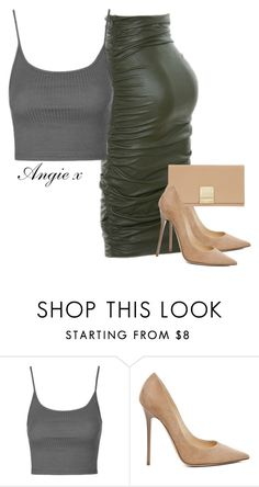 """""""Untitled #249"""" by stylzbyang ❤ liked on Polyvore featuring Kori, Topshop, Jimmy Choo and Jaeger"""