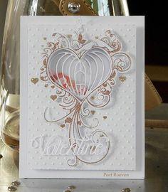 Peets Scrapalbum: Valentine Shaker Card