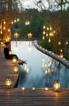 water feature, lighting - Ana Rosa