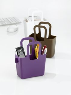 Taschelini Bag/Basket. Assorted colors available.