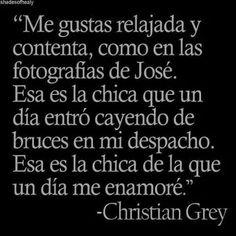 50 Sombras de Grey. Frases