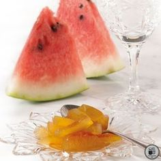 Your share text Mediterranean Recipes, Greek Recipes, Sweet Desserts, Preserves, Watermelon, Food And Drink, Cooking Recipes, Sweets, Fruit