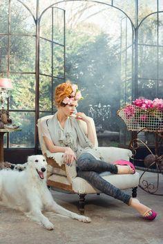 ❤ =^..^= ❤   Tia Eckhardt for the Strand Arcade Spring/Summer 2011 campaign.