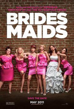 Film* - Bridesmaids (2011): Hoe een vriendschap tussen twee meiden in de tijd van vrijgezellenfeest en huwelijksvoorbereiding bijna geruïneerd kan worden... Voorspelbaar, slecht geacteerd en niet eens echt grappig. Jammer.