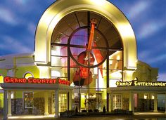 Grand Country Inn--Branson, Mo. This hotel has an awesome water park inside that's included with the price of hotel.