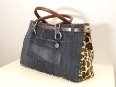 NYC bag/by My Jeans Bag  #denimbags #trendy