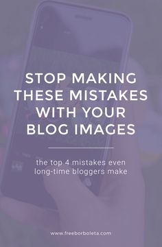 Blogging Tips: Images are an integral part of blogging, yet so many bloggers continue to make these 4 mistakes with their blogging images / photography. Don't be one of *those* bloggers and read these 4 tips.