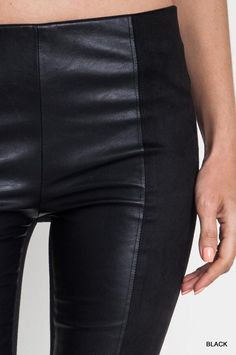 Leather like leggings Gypsy Chic bottoms/rompers