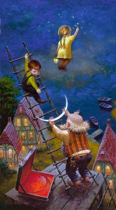Sharing The World Together: Paintings by Victor Nizovtsev