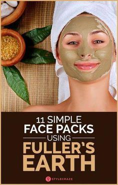 Flawless Skin Remedies 11 Simple Face Packs Using Fuller's Earth - Too budget conscious to get a face clean up or a facial at the parlor? Then, try Multani mitti – a natural solution for all your skin woes. Multani Mitti Face Pack, Fullers Earth, Simple Face, Uneven Skin Tone, Clean Face, Beauty Routines, Skincare Routine, Skin Routine, Pimples