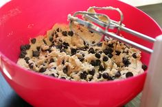 Chocolate chip cookie dough ♡