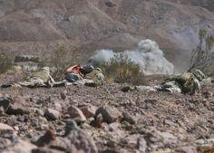 The United States Marine Corps Mojave Viper training