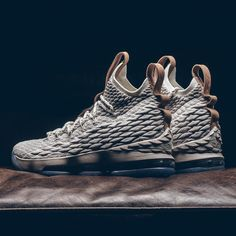 """The Nike LeBron 15 """"Ghost"""" officially releases tomorrow. For full release details, tap the link in our bio. Tenis Lebron James, Nike Lebron, Casual Sneakers, Sneakers Fashion, All Black Sneakers, Toms Shoes For Men, Sneaker Posters, Baskets, Girls Basketball Shoes"""