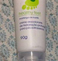 Creme desodorante de hidratação profunda para pés extrassecos - 90g