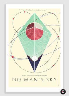 NO MAN'S SKY Poster by Giogiogio4 on DeviantArt